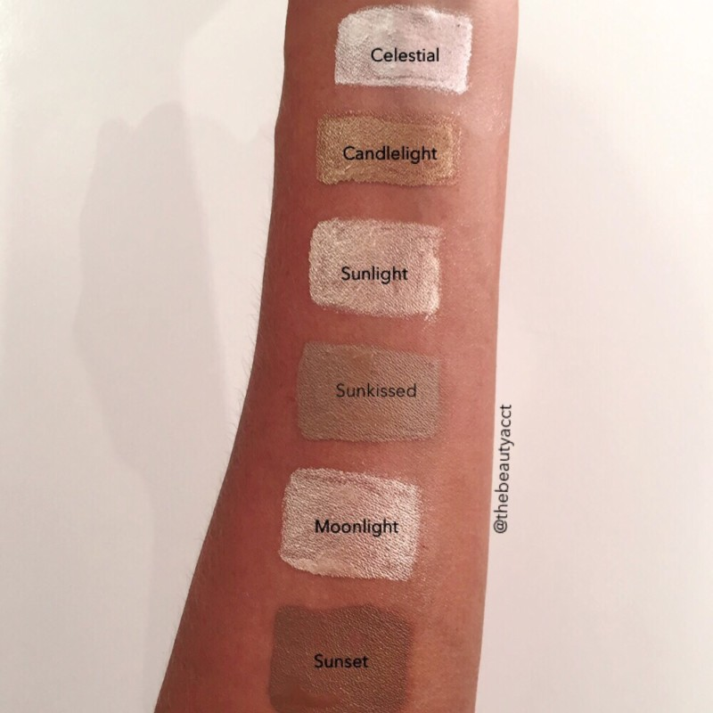 Makeup revolution highlighter brick