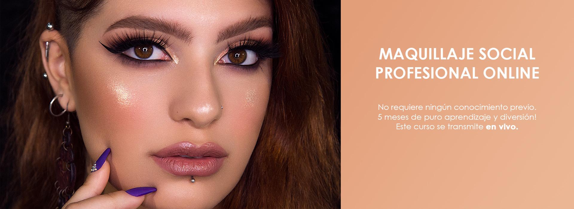 Curso de Maquillaje Social Profesional Online