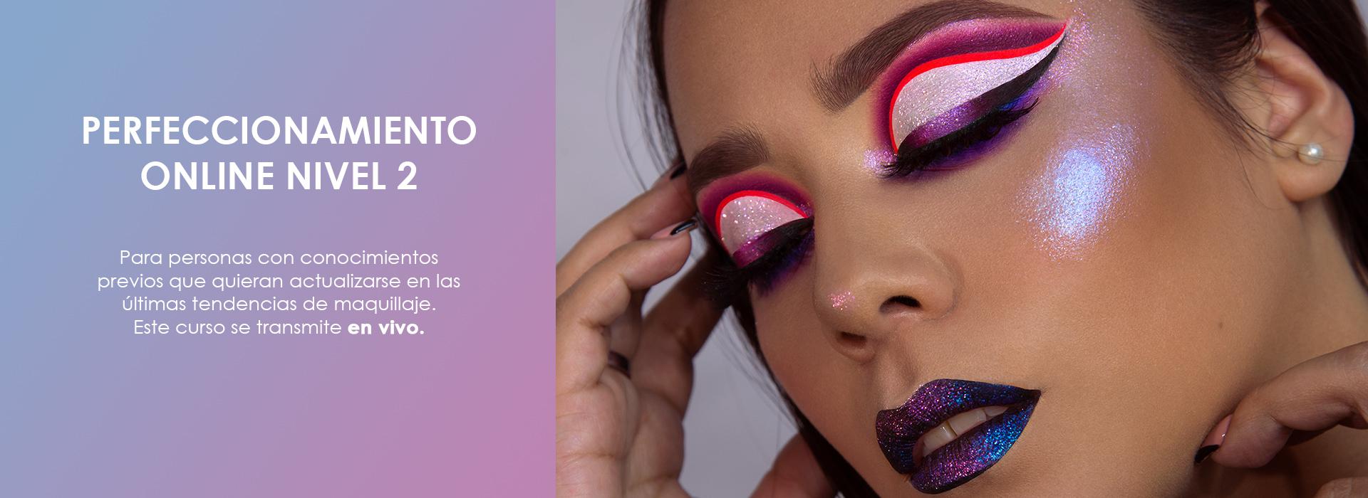 Curso de Maquillaje Online - Perfeccionamiento nivel 2